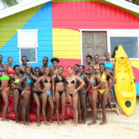 _Contestants-in-the-Caribbean-Model-Search-TV-series-beachside-at--Melia-Braco-Resort-Village (1)