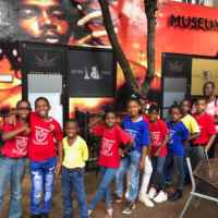 Children at Peter Tosh Museum